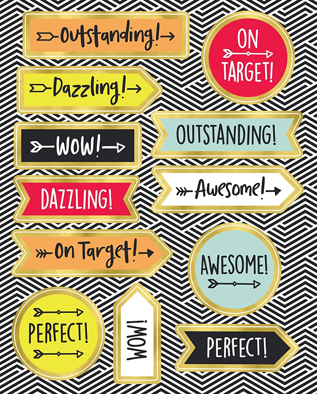 Aim High Motivators Motivational Stickers