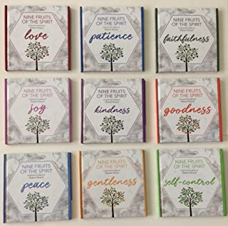 Nine Fruits of the Spirit - A Complete Devotion Series Love Joy Peace Patience Kindness Goodness  Faithfulness Gentleness and Self-Control (New Style) Hardcover – 1999