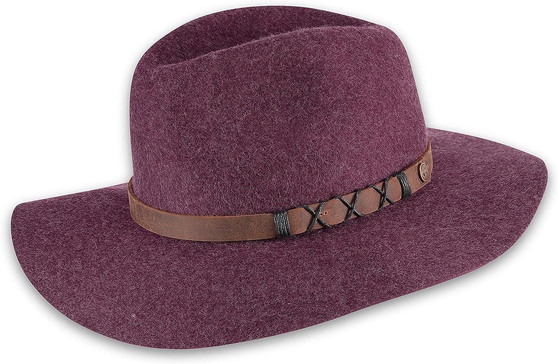 pistil Women's Soho Felt Wide Brim Hat