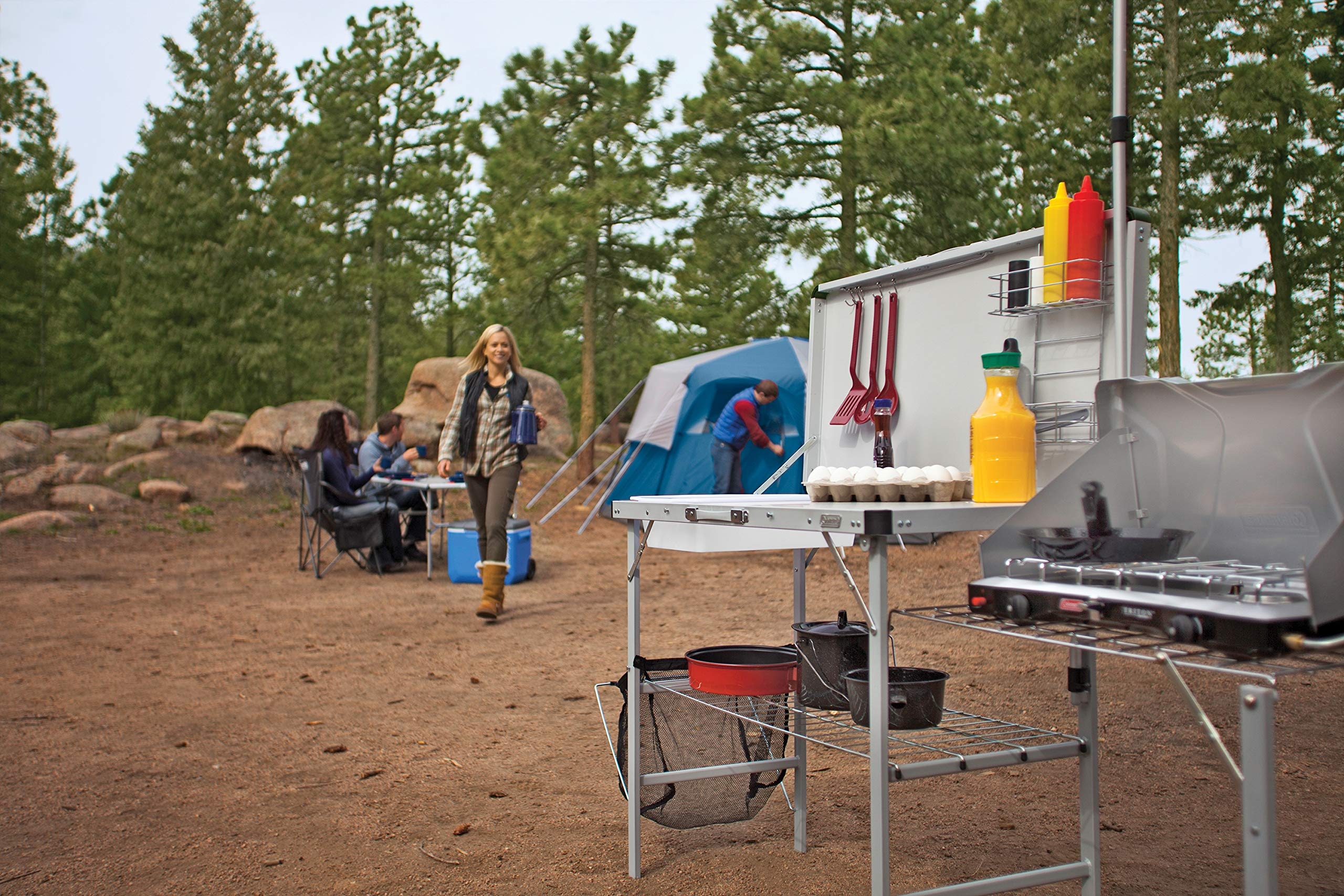 Coleman Pack-Away Deluxe Portable Kitchen Table