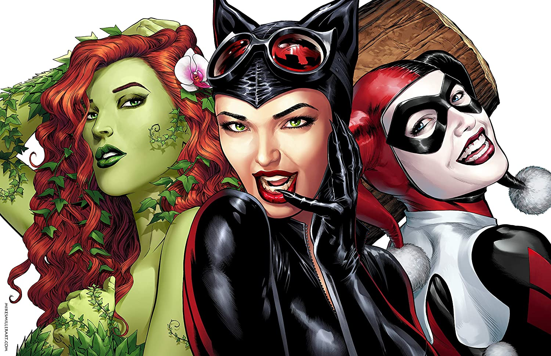 Beautiful 賜物 Actresses Print DC Poster Comics Harley 大注目 Quinn
