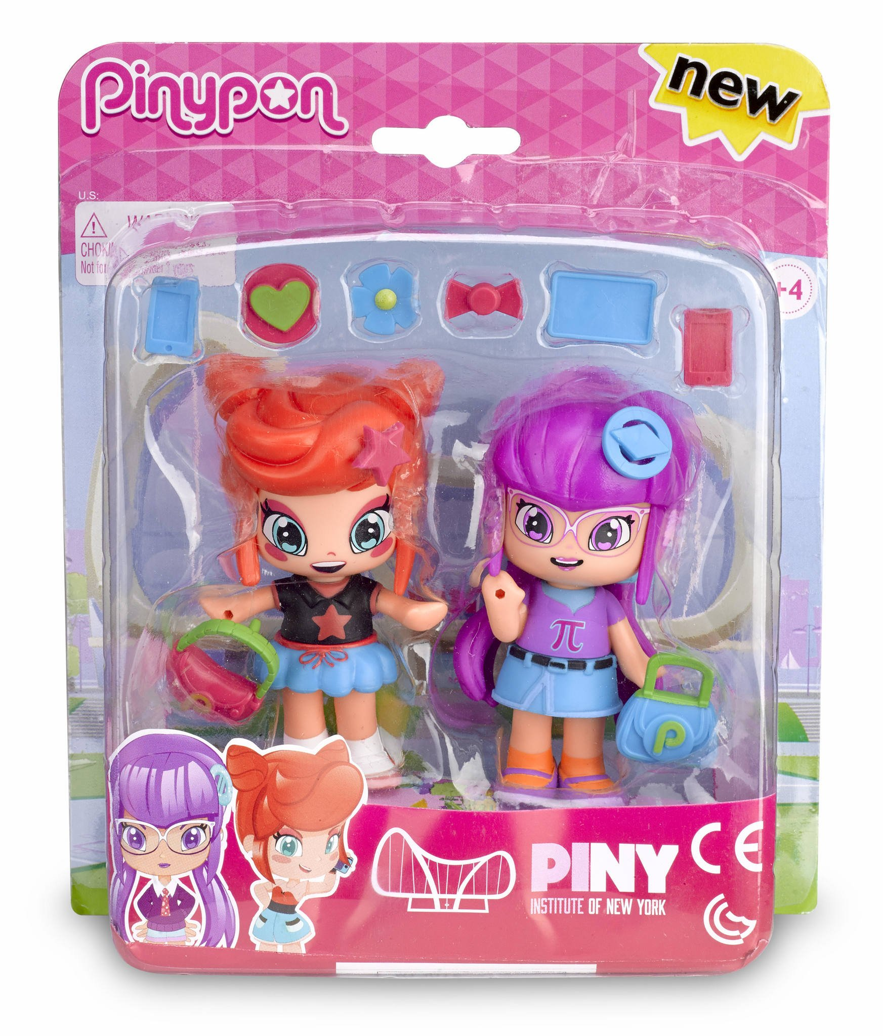 Amazon.es: Pinypon by PINY - Pack Compañeras de Clase: Rita And ...