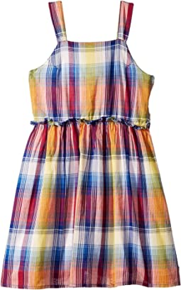 Plaid Cut Out Dress (Big Kids)