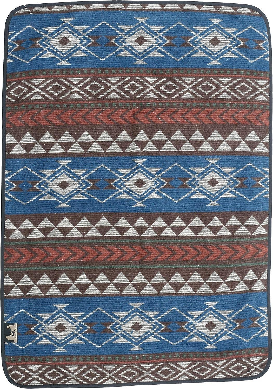RuthBoaz Outdoor Atlanta Mall Award Wool Blend Pet Ethnic Pattern Inka Blanket