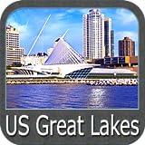 US Great Lakes gps navigator