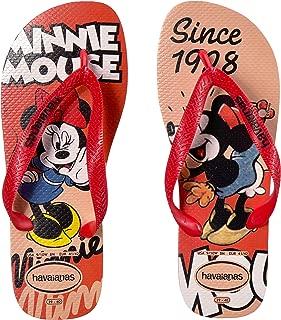 Havaianas Women's Flip Flop Sandals, Minnie Mouse Disney Stylish
