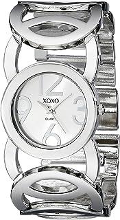 ساعة اكس او اكس او كوارتز للنساء شاشة انالوج بعقارب و سوار ستانلس ستيل - XO5210