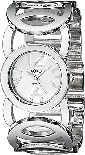 XOXO Womens Quartz Watch, Analog Display and Stainless Steel Strap - XO5210