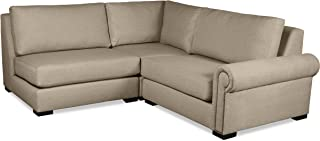 South Cone Home Chelsea Modular Sectional Brown