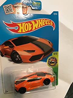 Hot Wheels 2016 HW Exotics Lamborghini Huracan LP610-4 76/250, Orange
