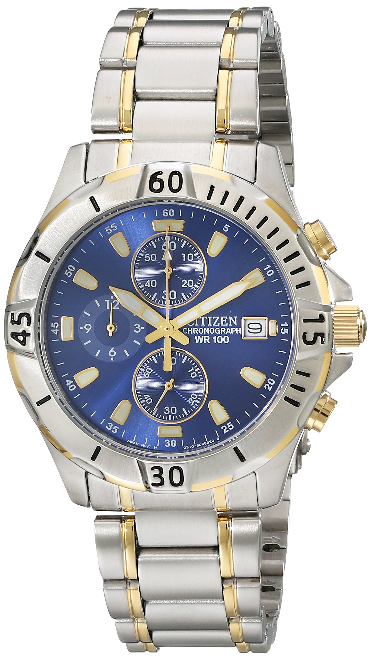 Citizen Two Tone Stainless Chronograph AN3394 59L