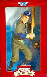 LOU GEHRIG / NEW YORK YANKEES * 12 INCH * 1996 MLB Cooperstown Collection Starting Lineup Limited Edition Fully Poseable