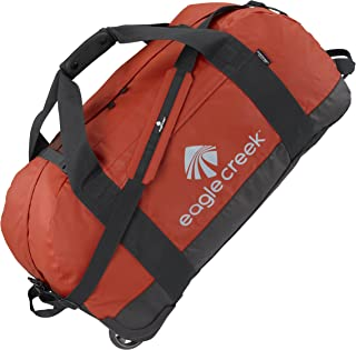 Eagle Creek Travel Gear No Matter What Flashpoint Large Rolling Duffel, Red Clay