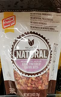 Oscar Mayer Selects Natural Uncured Bacon Bits 2.8 oz (Pack of 2)