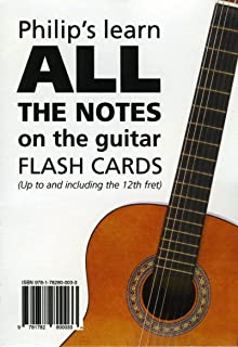 Philip's Learn ALL the Notes on the Guitar Flash Cards