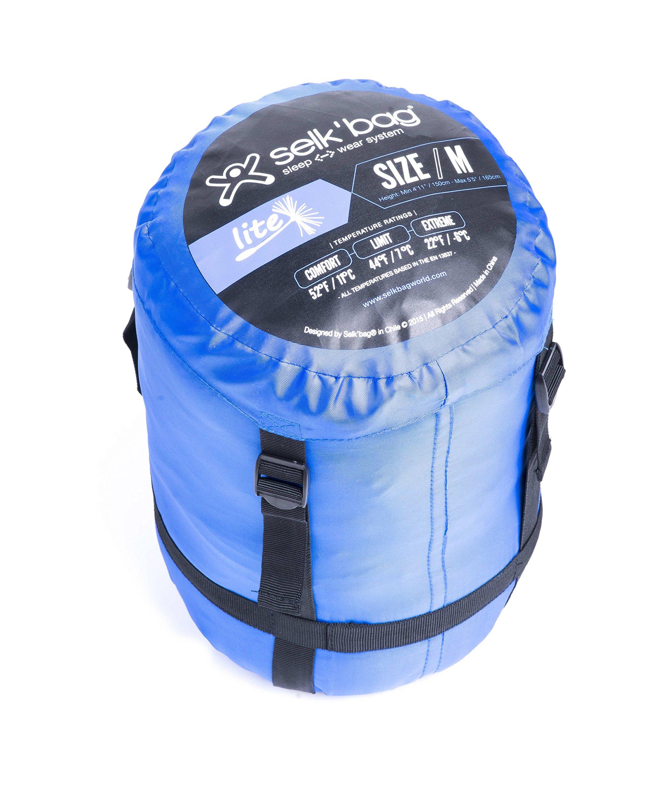 Selkbag Adult Lite 5G Sac de Couchage Portable