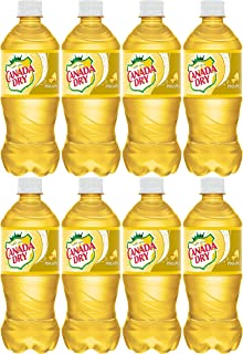 Canada Dry Pineapple Soda, 20oz Can (Pack of 8, Total of 160 Oz)