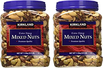 Kirkland Signature ffWYvN Fancy Mixed Nuts, 40 Ounce (2 Pack)