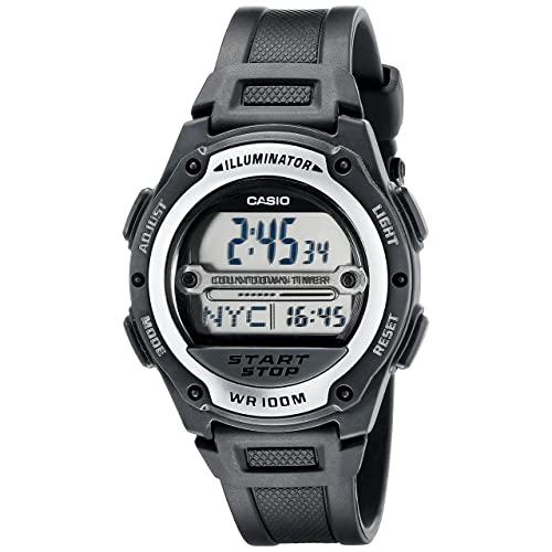 Casio Mens W756-1AVCR Sport Watch