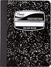 Mead Composition Notebook, College Ruled Comp Book, Writing Journal with Lined Paper,..