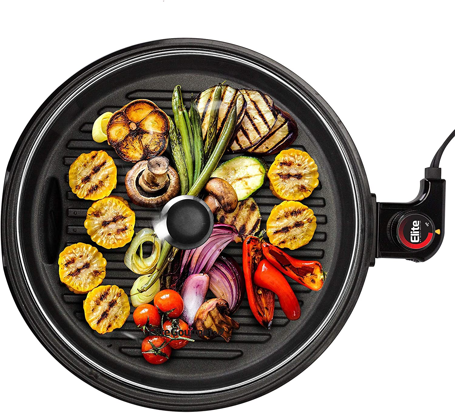 Elite OFFicial store Gourmet EMG6505G Smokeless Indoor Electric BBQ Grill Miami Mall with
