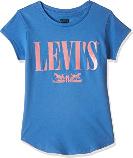 Levi's Girl's RXZER23 Graphic Color: Blue Size: 4 Years