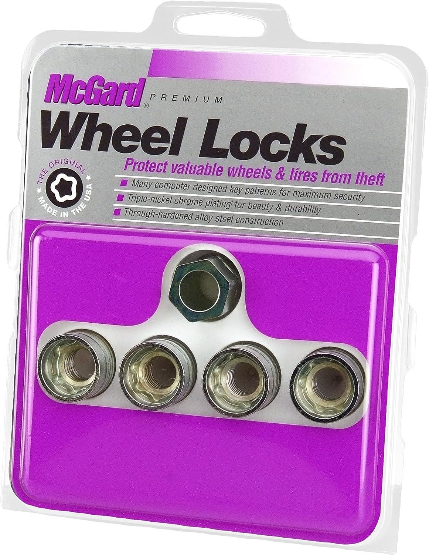 McGard 24014 Wheel Time sale Lock Set Industry No. 1 9 16-18 Cone NUT Under SEAT UHC Cap