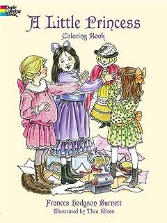 A Little Princess Coloring Book