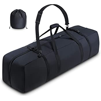 BagMate Multipurpose Telescope Bag, 39x12.3x12.3 inch – Shock-Absorbent Telescope Carrying Case with Adjustable Shoulder Strap and Extra Storage – Water Repellent