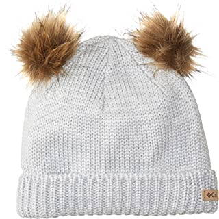 Columbia 女童 Snow Problem 无檐小便帽