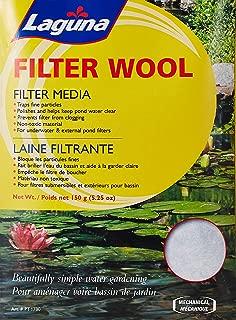 Laguna PowerFlo Pro Filter Wool, 5-1/4-Ounce