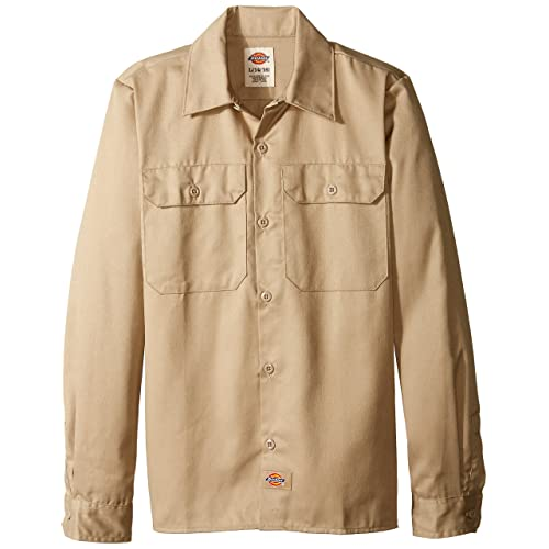 8039a4b4c Dickies Boys' Twill Long Sleeve Shirt