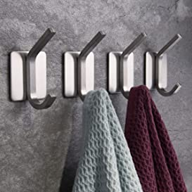 Explore hooks for towels
