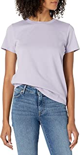 The Drop Women's Courtney Short-Sleeve Tiny Crewneck Jersey T-Shirt