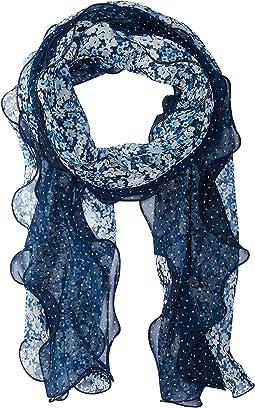 Livia Silk Oblong Scarf