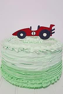 Race Car Cake Topper