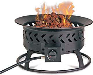 Endless Summer Steel Portable Propane Outdoor Fireplace