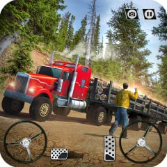 Games Features: Unlock multiple offroad trucks as you progress through game Real truck driver job of transporting goods at multiple locations around hill station Range of detailed vehicles (cargo trailer, euro truck, american truck, 18 wheeler) AI Tr...
