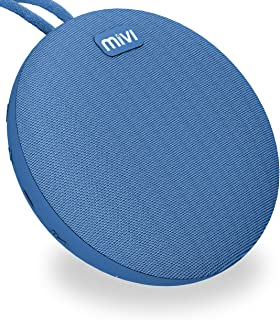 Mivi Roam Ultra-Portable Wireless Speaker with HD Sound, Booming Bass and 5Watts Peak Output-Blue
