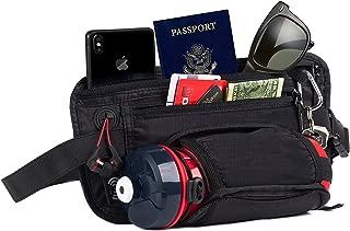RFID Money Belt & Fanny Pack – Passport Holder, Hidden Travel Belt, Waist Wallet by The Hagen Pack