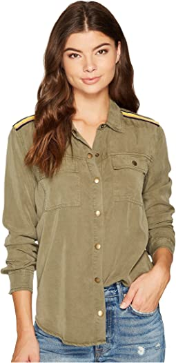 Splendid - Military Button Down