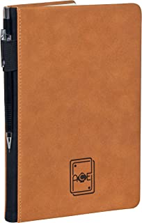 ACE Music Notebook | Leather Hardcover | Songwriting Journal | Staff Paper Notebook