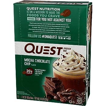 Quest Nutrition Protein Bar, Mocha Chocolate Chip