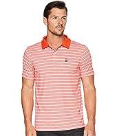 Performance Golf Striped Polo