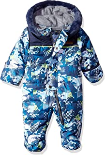 Wippette Baby Boys Camouflage Snowsuit Pram