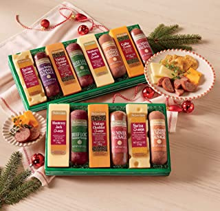 Sausage 'n Cheese Bars Gift Assortments Gift of 10 from The Swiss Colony