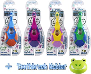 Royal Angels 5 in 1 Baby Toddler Toothbrush & Holder
