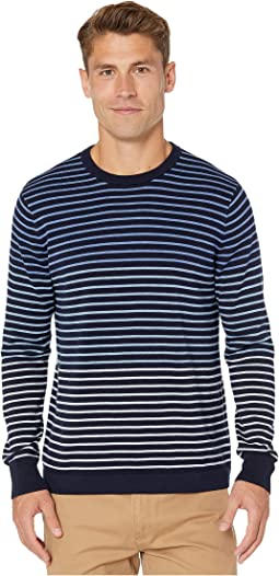 Gradient Stripe Heather Peri