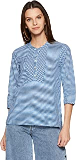 Styleville.in Women's Checkered Regular Fit Shirt