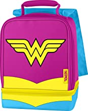 Thermos Dual Compartment Lunch Kit, Wonder Woman with Cape